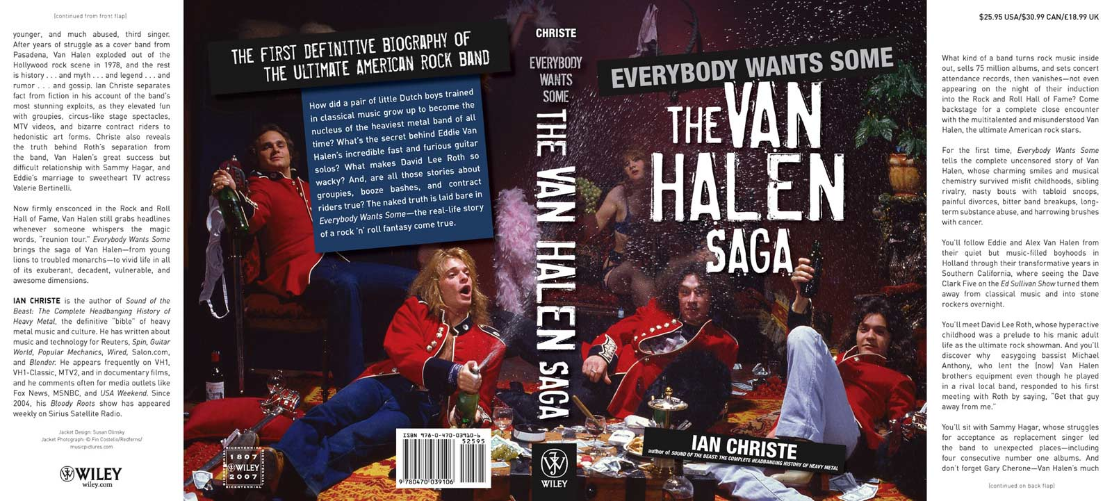 Everybody Wants Some - Draft of Dust Jacket