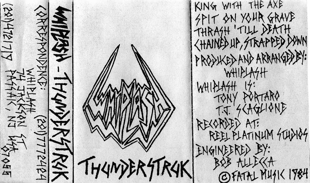 Whiplash - Thunderstruk demo