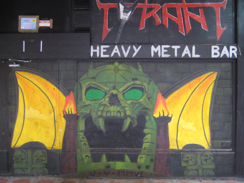 Yep, it\'s a heavy metal bar.